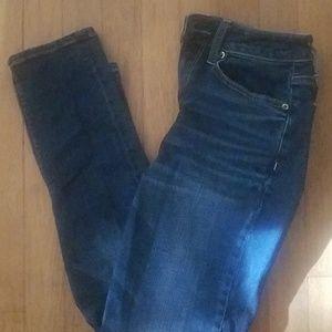 American Eagle Hi -Rise Tom Girl Jeans